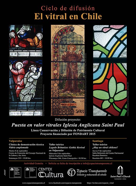 Afiche conversatorios 2015